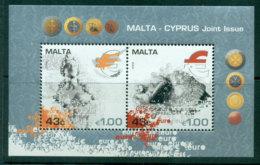Malta 2008 Malta-Cyprus Joint Issue MS MUH Lot23579 - Malta