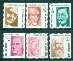 San Marino 1983 Portraits Famous Men MUH Lot40240 - Unused Stamps