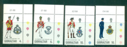 Gibraltar 1974 Military Uniforms MUH Lot55372 - Gibraltar