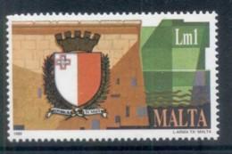 Malta 1989 New State Arms MUH - Malta