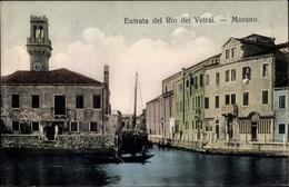 Cp Murano Venezia Venedig Veneto, Entrata Del Rio Dei Vetrai - Italia