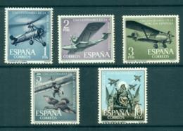 Spain 1961 Spanish Aviation MLH Lot34838 - 1931-Today: 2nd Rep - ... Juan Carlos I