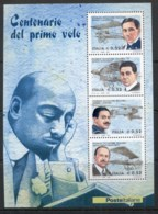 Italy 2003 Centenary Of Flight MS MUH - 6. 1946-.. Republic
