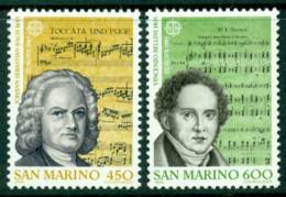 San Marino 1985 Europa MUH Lot15972 - Unused Stamps