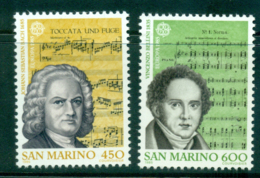 San Marino 1985 Europa Composers & Music MUH Lot40253 - San Marino