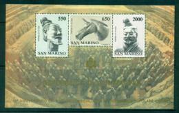 San Marino 1986 Diplomatic Relations With China MS MUH Lot40269 - San Marino