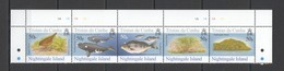 XX316 TRISTAN DA CUNHA NIGHTINGALE ISLAND FAUNA BIRDS MARINE LIFE #883-7 SET MNH - Timbres