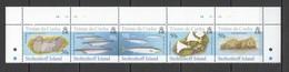 XX318 TRISTAN DA CUNHA STOLTENHOFF ISLAND FAUNA BIRDS MARINE LIFE #888-92 !!! MICHEL 12 EURO !!! SET MNH - Timbres