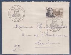 = Elie Metchnikoff Enveloppe Acheminée Premier Jour Paris 9.7.66 N°1474 - 1961-....