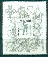Poland 1976 Montreal Olympics Black Print  MS MUH Lot58735 - 1944-.... Republic