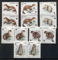 Poland 1984 Protected Animals Pr MUH - Unused Stamps