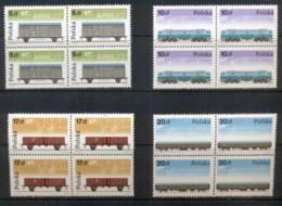 Poland 1985 Railways Blk4 MUH - 1944-.... Republic