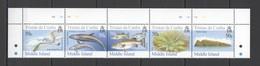 XX317 TRISTAN DA CUNHA MIDDLE ISLAND FAUNA BIRDS MARINE LIFE #911-15 !!! MICHEL 12 EURO !!! SET MNH - Timbres