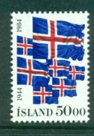 Iceland 1984 40th Anniv Of Republic MUH Lot32397 - 1944-... Republic