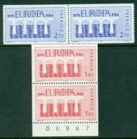 Sweden 1984 Europa Pair MUH Lot15913 - Unused Stamps