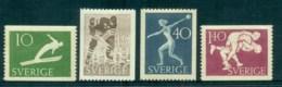Sweden 1953 Swedish Athletic Assoc, Sport MH Lot83812 - Sweden