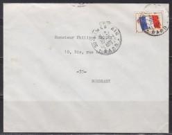 = Enveloppe Franchise Militaire N° 13 Nîmes Air 30 Gard 27.9.1971 - Franchise Stamps