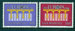 San Marino 1984 Europa MUH Lot40249 - Unused Stamps
