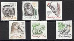 Sweden 1989 Endangered Species MUH Lot12318 - Unused Stamps
