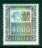 Italy 1979 Italia Type 4000l MUH - 6. 1946-.. Republic