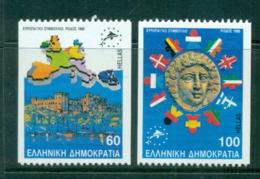 Greece 1988 Council Of Europe Ex Booklet MUH Lot58578 - Greece