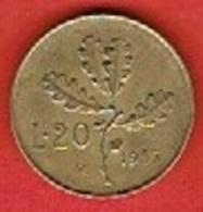 ITALY # 20 Lire   FROM 1957 - 20 Lire