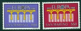 San Marino 1984 Europa MUH Lot15971 - Unused Stamps