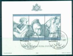 San Marino 1981 Virgil's Death Millenium MS CTO - Unused Stamps