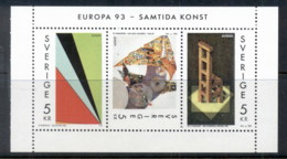 Sweden 1993 Contemporary Art Booklet Pane MUH - Sweden