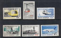 Romania 1995 Methods Of Transportation CTO - 1948-.... Republics