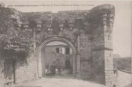 GUEMENE SUR SCORFF - RUINE DU VIEUX CHATEAU DE ROHAN - Guemene Sur Scorff
