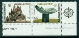 Greece 1987 Europa Pair MUH Lot15415 - Greece