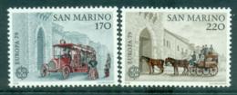 San Marino 1979 Europa, Communications MUH Lot65741 - San Marino