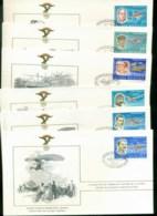 Romania 1978 History Of Aviation, FAI 6xFDC Lot79581 - 1948-.... Republics