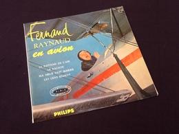 Vinyle 33 Tours (25cm)  Fernand Raynaud En Avion  (1964) - Vinyles