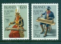Iceland 1985 Europa MUH Lot32404 - 1944-... Republic