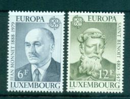 Luxembourg 1980 Europa, Celebrities MUH Lot65751 - Luxembourg