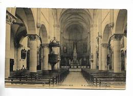90 - GRANDVILLARS - ( Intérieur église ) - Carte Toilée - Grandvillars