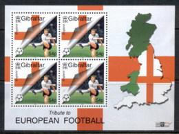 Gibraltar 2000 European Soccer MS MUH - Gibraltar