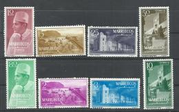 MARRUECOS  EDIFIL  ZONA NORTE 1/8   MNH  ** - Marruecos Español