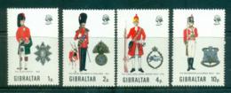 Gibraltar 1971 Military Uniforms MUH Lot55370 - Gibraltar