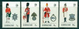 Gibraltar 1971 Uniforms MUH Lot79977 - Gibraltar
