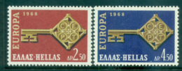 Greece 1968 Europa, Key With Emblem MUH Lot65451 - Greece