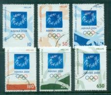 Greece 2000 Summer Olympics, Athens 2004 Emblem FU - Greece