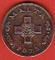 MALTA  # 1 CENT  FROM 1975 - Malte