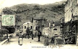 SAINTE-MARIE-SICCHE -  Sans Légende - Le Village Animé - Ed. N°540 Moretti - France