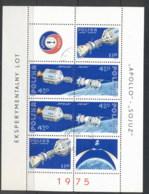 Poland 1975 Apollo-Soyuz Space Linkup MS CTO - 1944-.... Republic