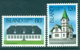 Iceland 1978 Europa, Architecture MUH Lot65692 - 1944-... Republic