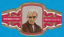 1 BAGUE DE CIGARE GRAND FORMAT BOUWMEESTERS ARCHITECTES RICHARD NEUTRA OOSTENRIJK AUTRICHE  (  119 MM ) - Bagues De Cigares