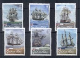 Gibraltar 2008, Nelson 250th Anniv., Ships MUH - Gibraltar